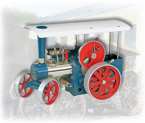Wilesco D405 Steam Traction Engine