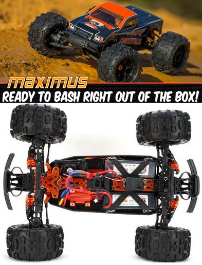 DHK Maximus Brushless 1/8th.
