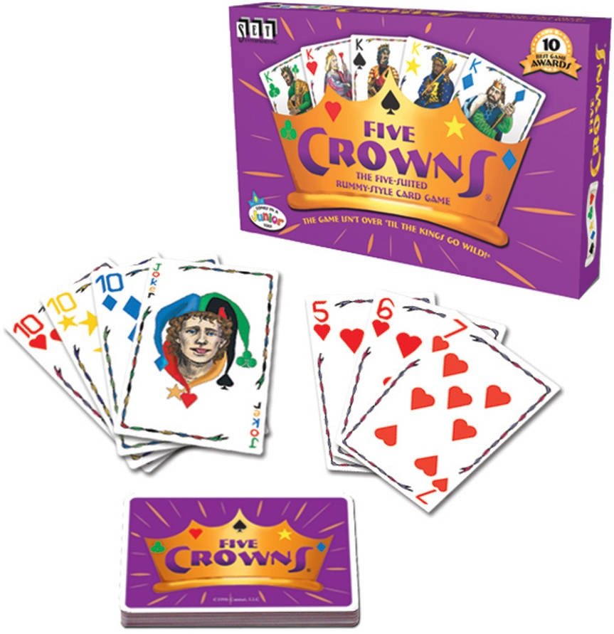 how to play five crowns card game